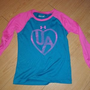 Girls Under Armour 2 pc top and pants